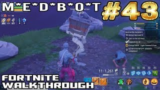 Fortnite Walkthrough #43 - M*E*D*B*O*T | Plankerton | Survivors