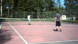 Tennis humor (läs beskrivningen)