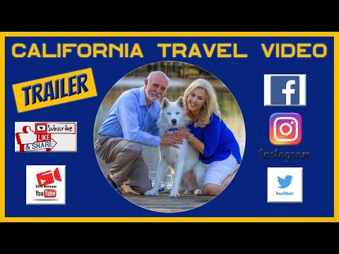 California Travel Videos, Trailer - cTv shares our RV Life