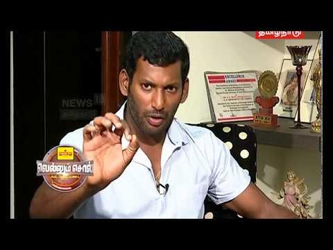 Exclusive Interview With Actor Vishal   Vellum Sol   News18 Tamil Nadu