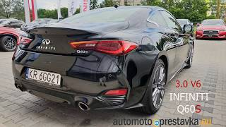 Infiniti Q60S and Q50S Europe Spec: Sound and Test Drive From Rear Passenger´s View