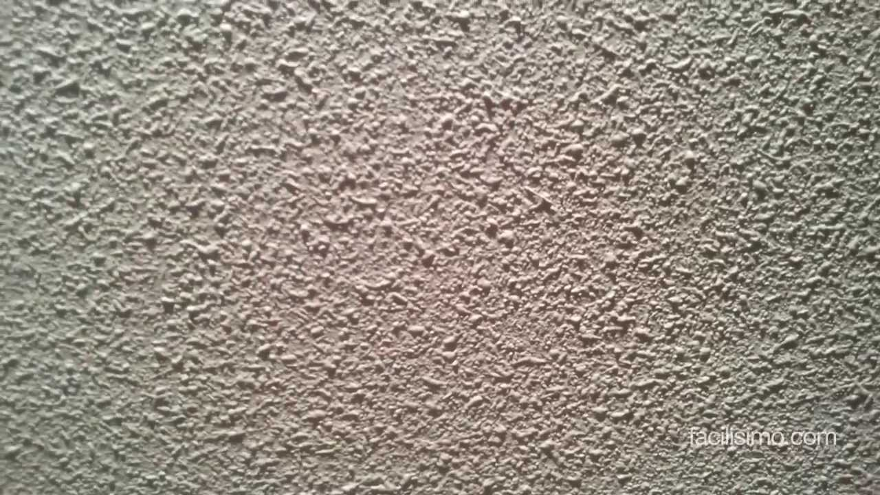 C mo quitar manchas en gotel blanco - Como quitar el gotele de la pared ...