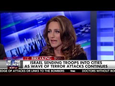 Brooke Goldstein on The Kelly File - Palestinian incitement, moral equivalence
