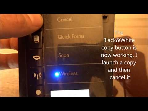 Fix HP Deskjet 3050 Printer That Won't Copy Or Whose Buttons Are Not Responding