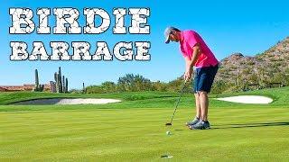 Pro Golfer Jon Rahm's Birdie Barrage at Silverleaf