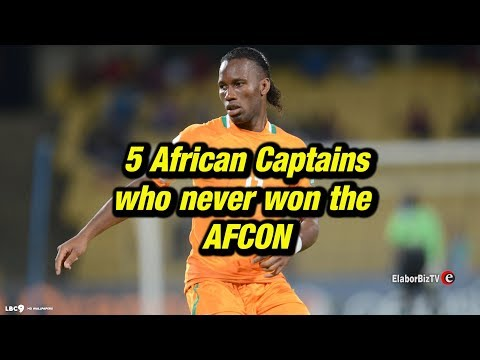 5 African Captains who never won the AFCON
