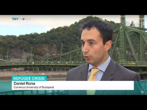 Refugee Crisis: Interview with Daniel Rona from Corvinus University of Budapest