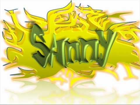 Sanny - Name Art Animation