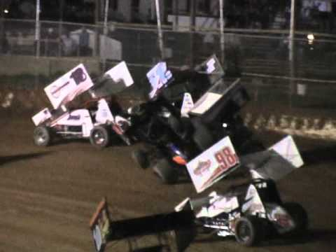 Trail-Way Speedway 358 Sprint Car Highlights 5-13-11