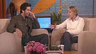 David Schwimmer on The Ellen Show in 2004 Part 1