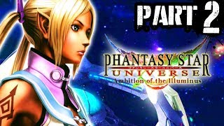 2) Phantasy Star Universe: Ambition of the Illuminus - Playthrough Gameplay