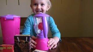 игрушки для детской кухни блендер миксер кофеварка(кухонный набор для девочек., 2016-02-05T01:56:48.000Z)