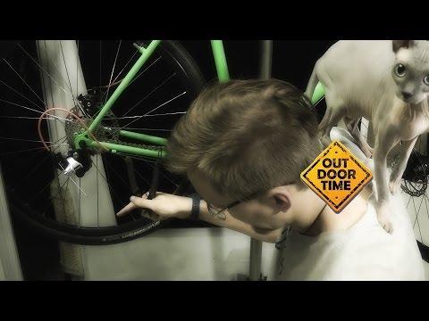 Как правильно выставить длину велосипедной цепи? [Гибридизация В.11]