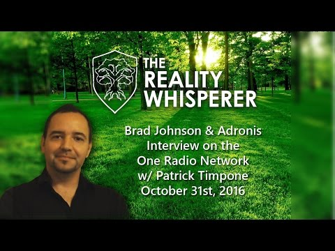 Brad Johnson and Adronis Interviewed on One Radio Network