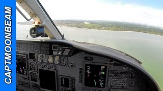Landing Hilton Head Airport And Atc Radio: Cessna Citation
