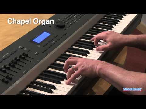 Kurzweil Artis Stage Piano Demo by Daniel Fisher