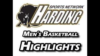 2017-18 Harding Men