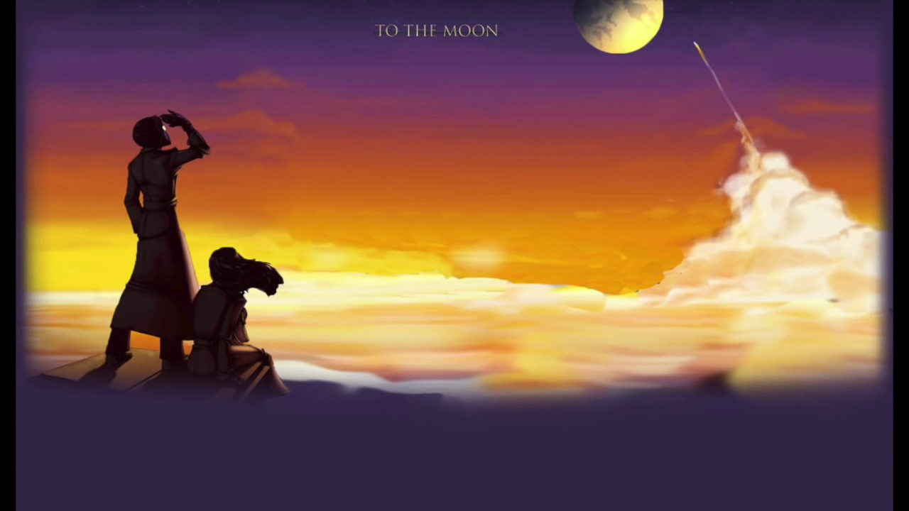 Relaxing To The Moon Music Youtube