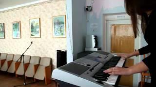 Игра на синтезаторе. Очень Красивая