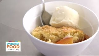 Biscuit-topped Peach Cobbler - Everyday Food With Sarah Carey