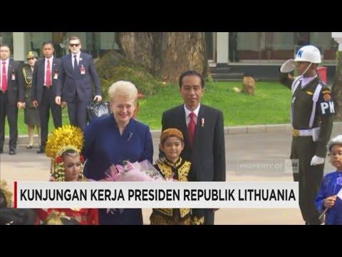 Kunjungan Kerja Presiden Republik Lithuania