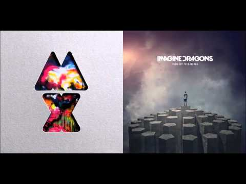 Radioactive Paradise   Coldplay vs  Imagine Dragons Mashup