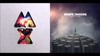 Repeat youtube video Radioactive Paradise   Coldplay vs  Imagine Dragons Mashup
