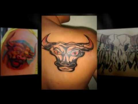 Bull Tattoo Designs - Beautiful Bull Tattoos