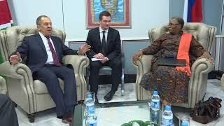 Переговоры с мининдел Намибии, Виндхук, 5 марта 2018 г.