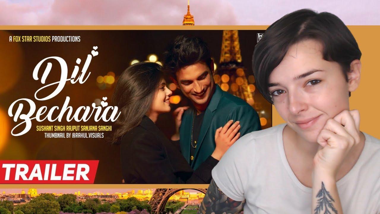 Dil Bechara | Official Trailer | Sushant Singh Rajput | AR Rahman | REACTION!!!
