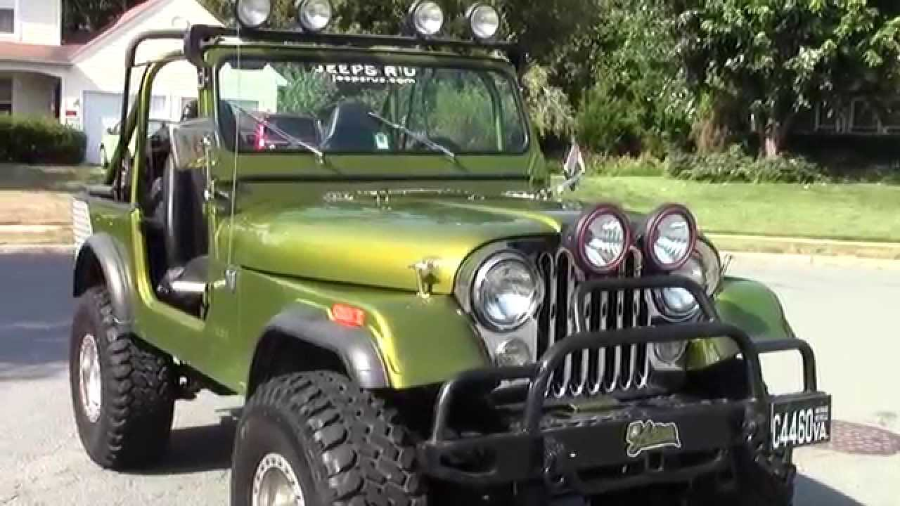 1978 jeep cj 7 automatic quadra trac fuel injection great condition youtube [ 1280 x 720 Pixel ]