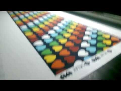 Digital printing on Roll to Roll - Cotton Lycra #MACROFAST Textile Digital printing