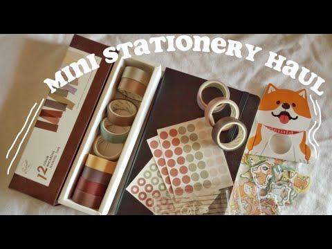 mini stationery haul🌻