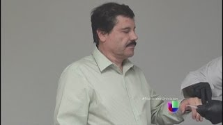 Joaquín El Chapo Guzmán habló con su esposa tras ser arrestado -- Noticiero Univisión