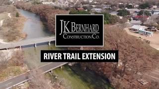 River Trail Extension Update | JK Bernhard Construction Co.