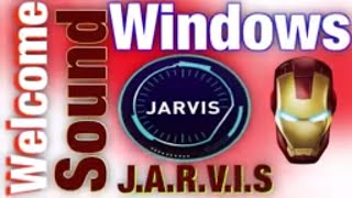 Make your Windows Computer Welcome You with its Sound Like #JARVIS