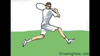 How to Draw a Tennis Champion