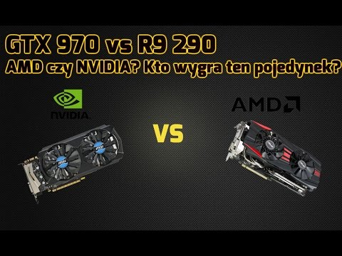 GeForce GTX 970 vs Radeon R9 290 - TEST!