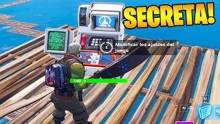 NEW BUG TO FIND THE SECRET MACHINE OF EPIC GAMES in FORTNITE!! 🎰😱