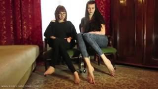 Very Tall Russian Woman Comparison Vs Small Woman