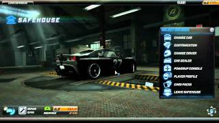 NFS World - Messing around with the safehouse controls