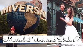 Getting Married at Universal Studios | Japan Vlog Pt. 4