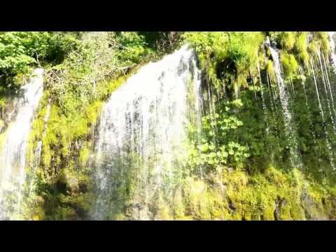Mossbrae falls in Dunsmuir, CA.