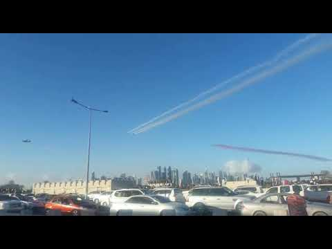 Qatar National Day Celebrations 2017 | Air Planes Show Live