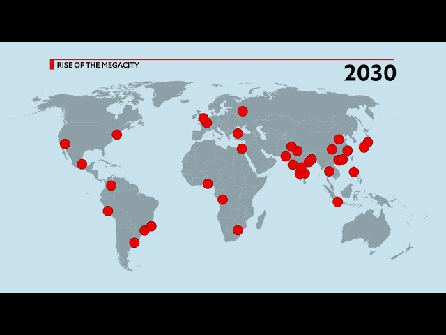 Urbanisation and the rise of the megacity | The Economist
