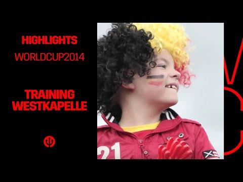 Training Belgian Red Devils