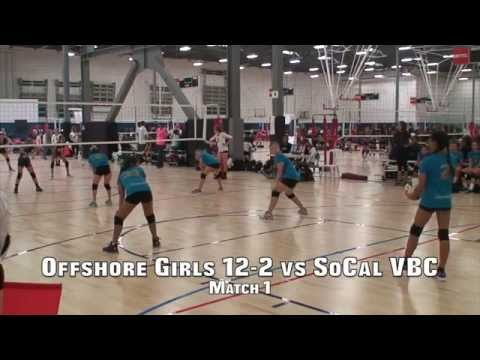 Offshore Volleyball 12-2 vs SoCal VBC 12 (Match 1) 3/7/15 (W)