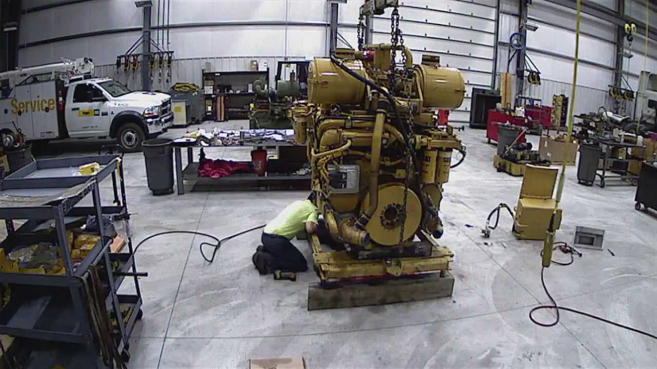 Caterpillar D11r Certified Power Train Engine Rebuild Time