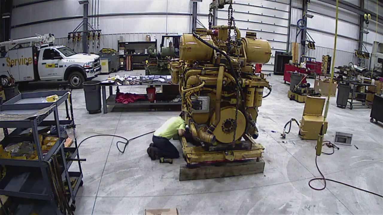 Caterpillar D11r Certified Power Train Engine Rebuild Time