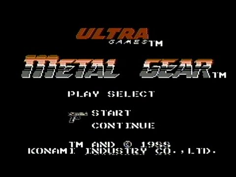 Let's Fully Play Metal Gear NES